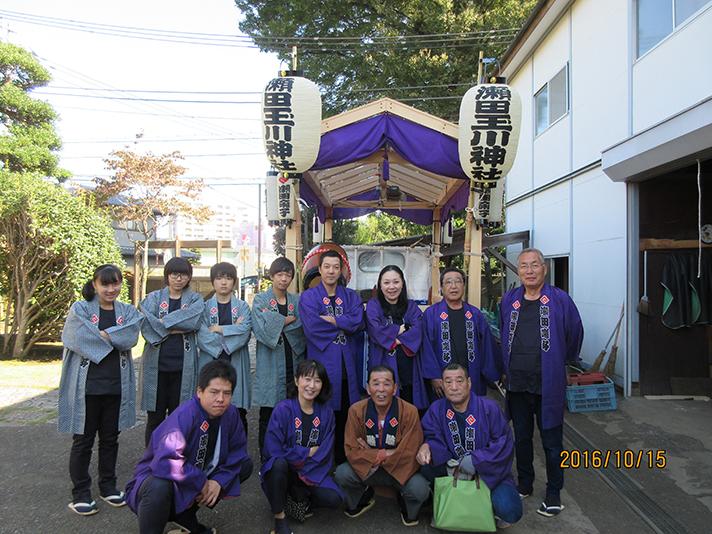 瀬田囃子保存会